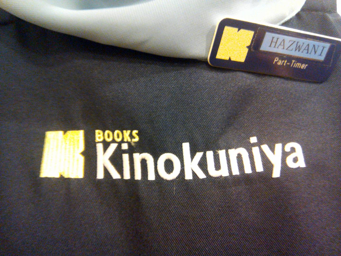 "The kind bookstore attendant told me Kinokunia is a Japanese term meaning ""Bookstore of Kii Province"". The company has its headquarters in Meguro, Tokyo."