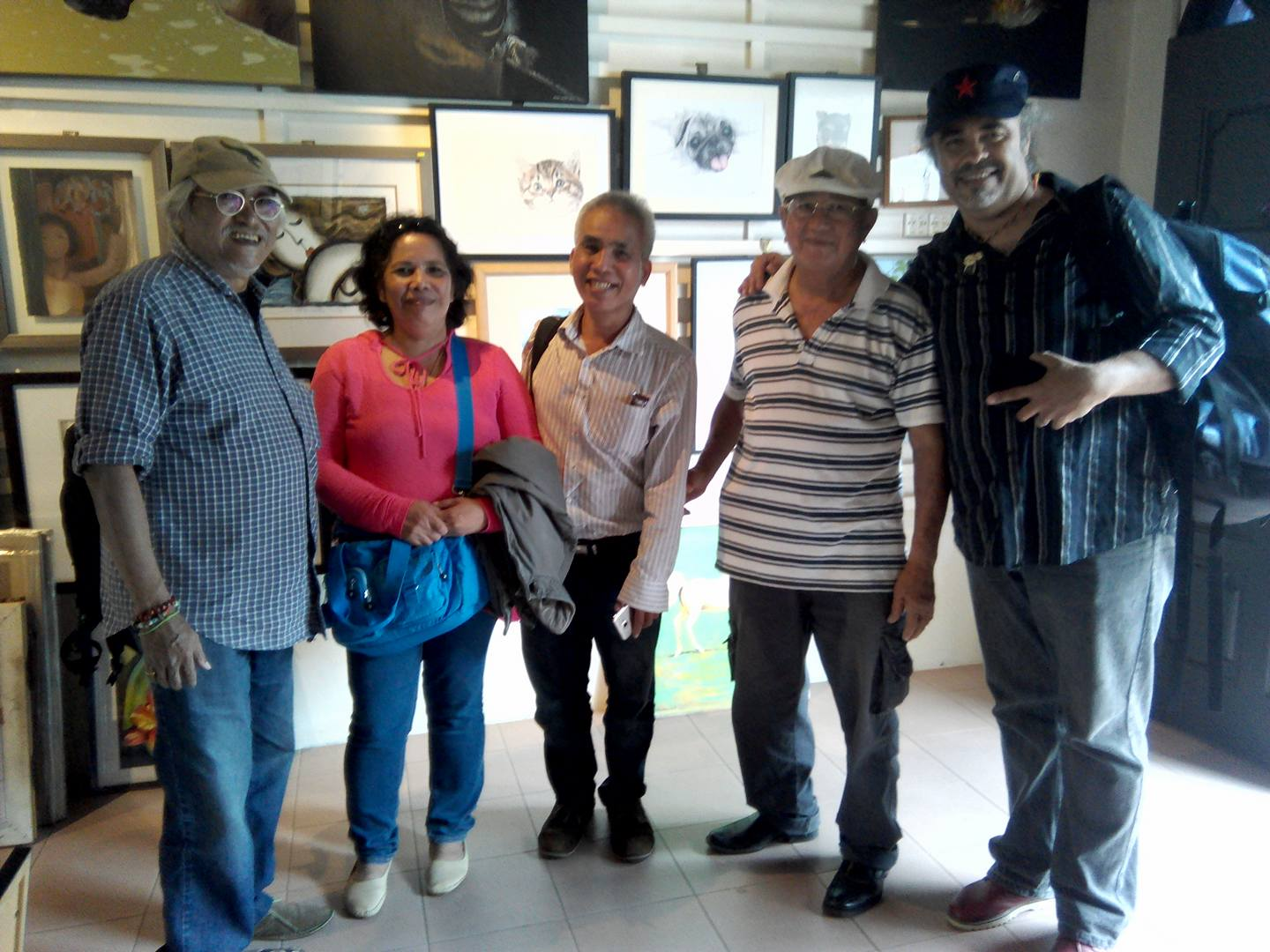 Khoo Khay Tat displays his artworks in Alyssa Gallery.
