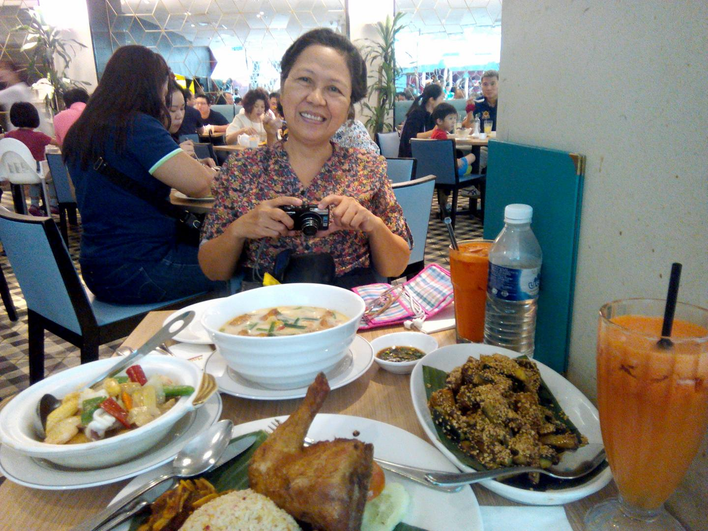 Chinese Malaysian Lunch treat at Madam Kwan'sby my friend Rizza who works in Malaysia