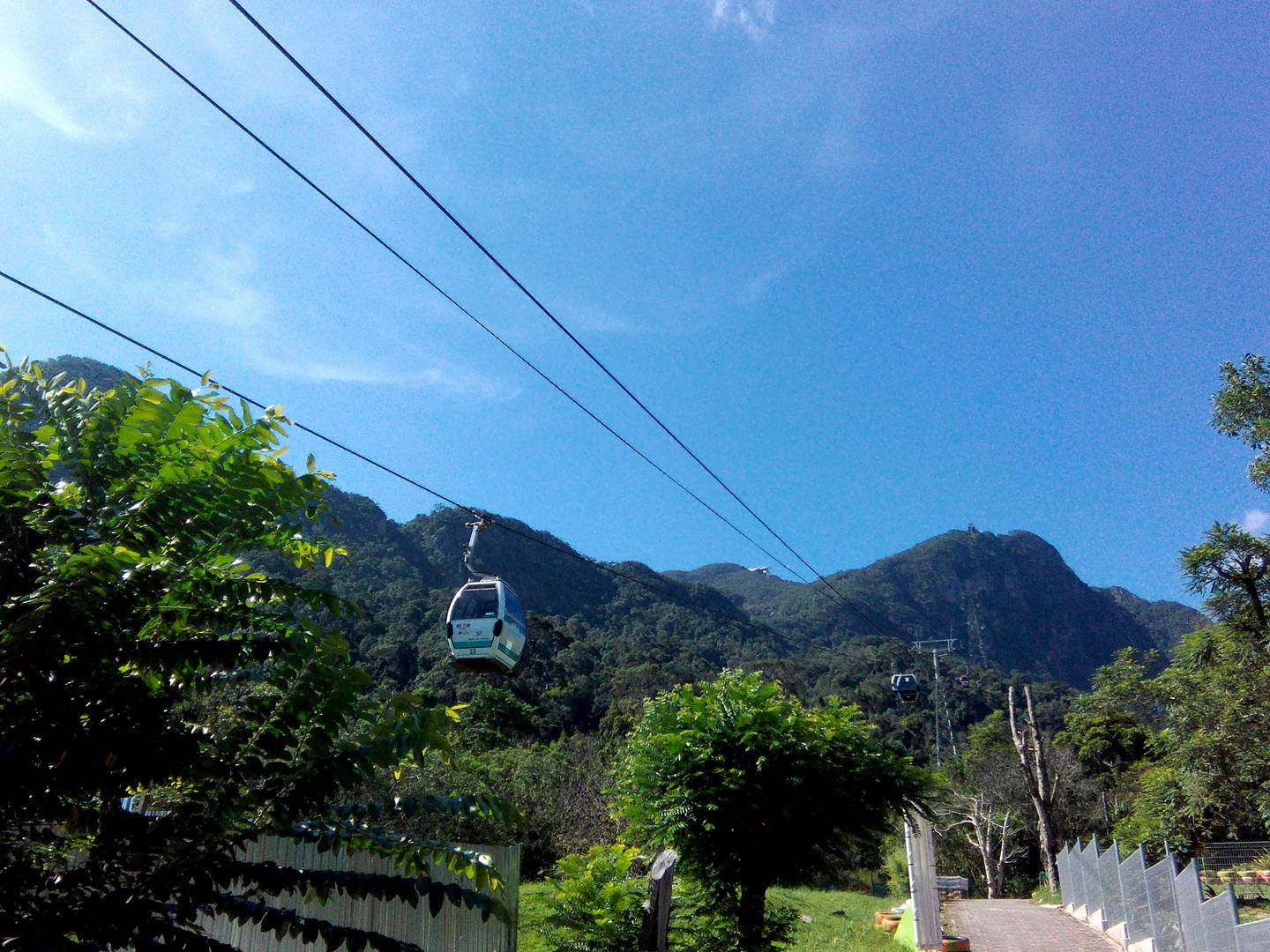 Cable car at The LAngkawi Geopark