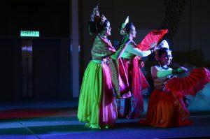 نمایش رقص براساس داستان عاشقانه محلی