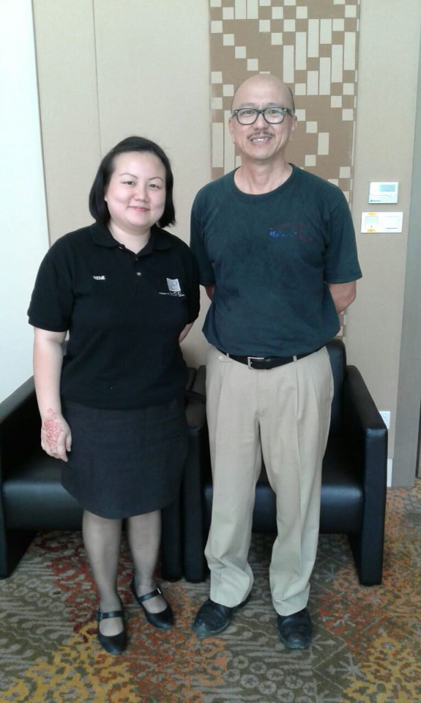 Irene Nur Ain Jong, Sales Manager of Langkawi International Convention Centre