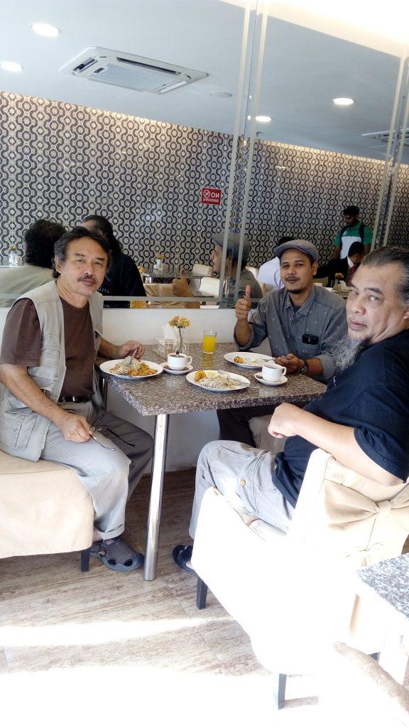 Rasid Yusof,  Agus and Ahmed Fauzi Arshad