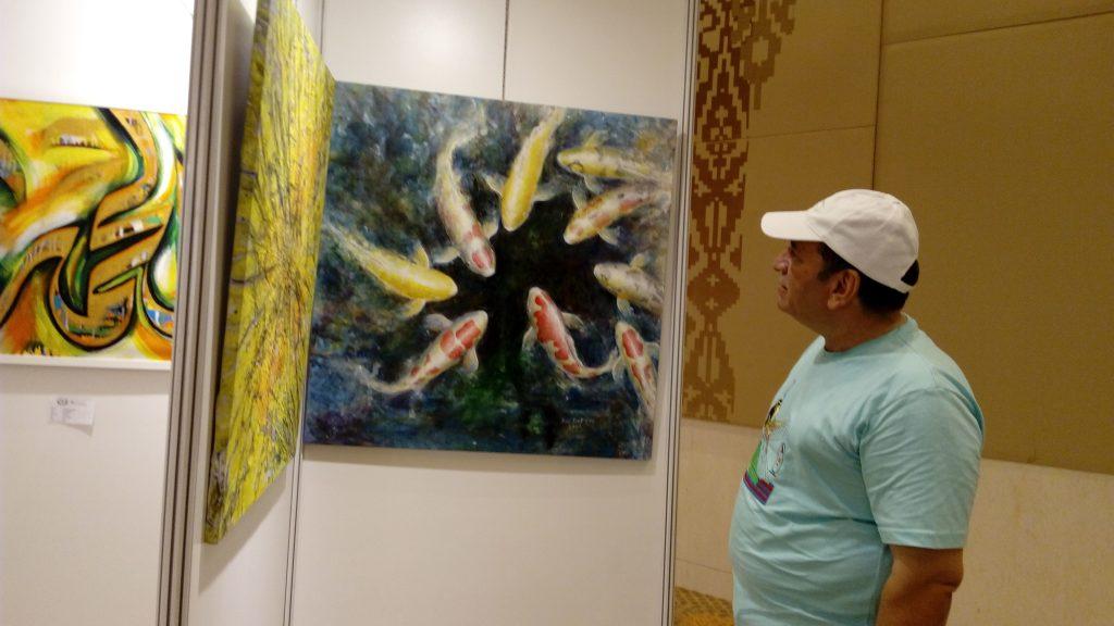 Visiting artist from Iraq