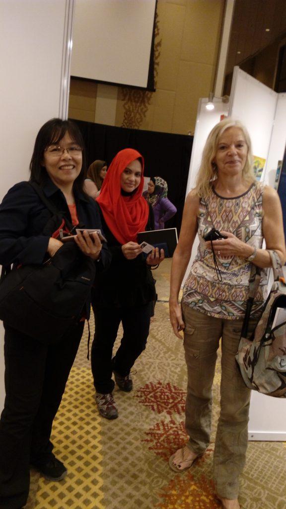 Participating artists:  Boo Suan Eng,  Liza, Susanna Hernesniemi