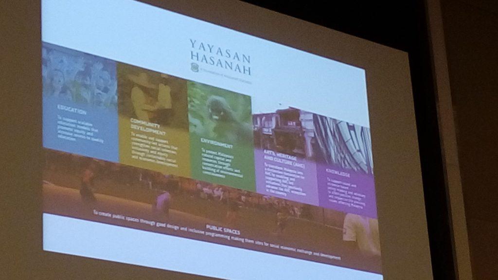 Yayasan Hasanah 's website